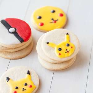 Pokémon Iced Sugar Cookies