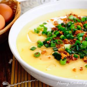 Chinese Steamed Egg 蒸水蛋
